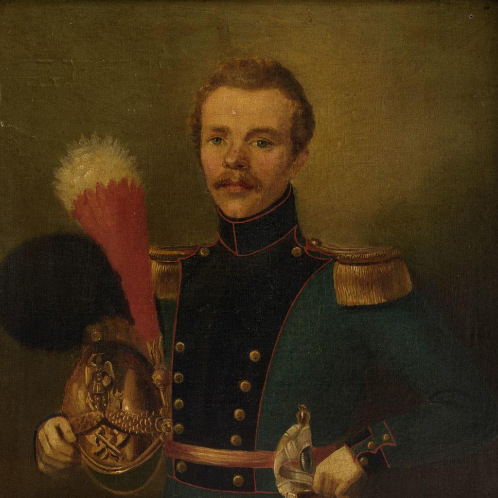 Pair of Belgian portraits,-102119