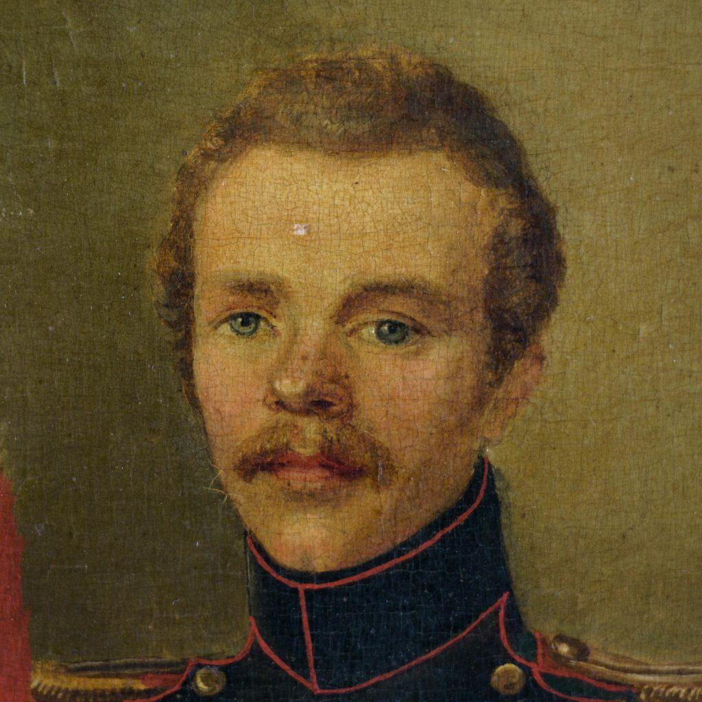 Pair of Belgian portraits,-102125