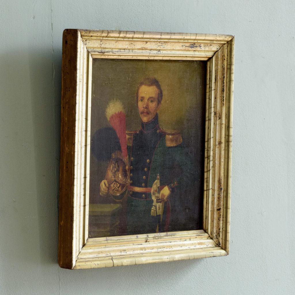 Pair of Belgian portraits,-102117