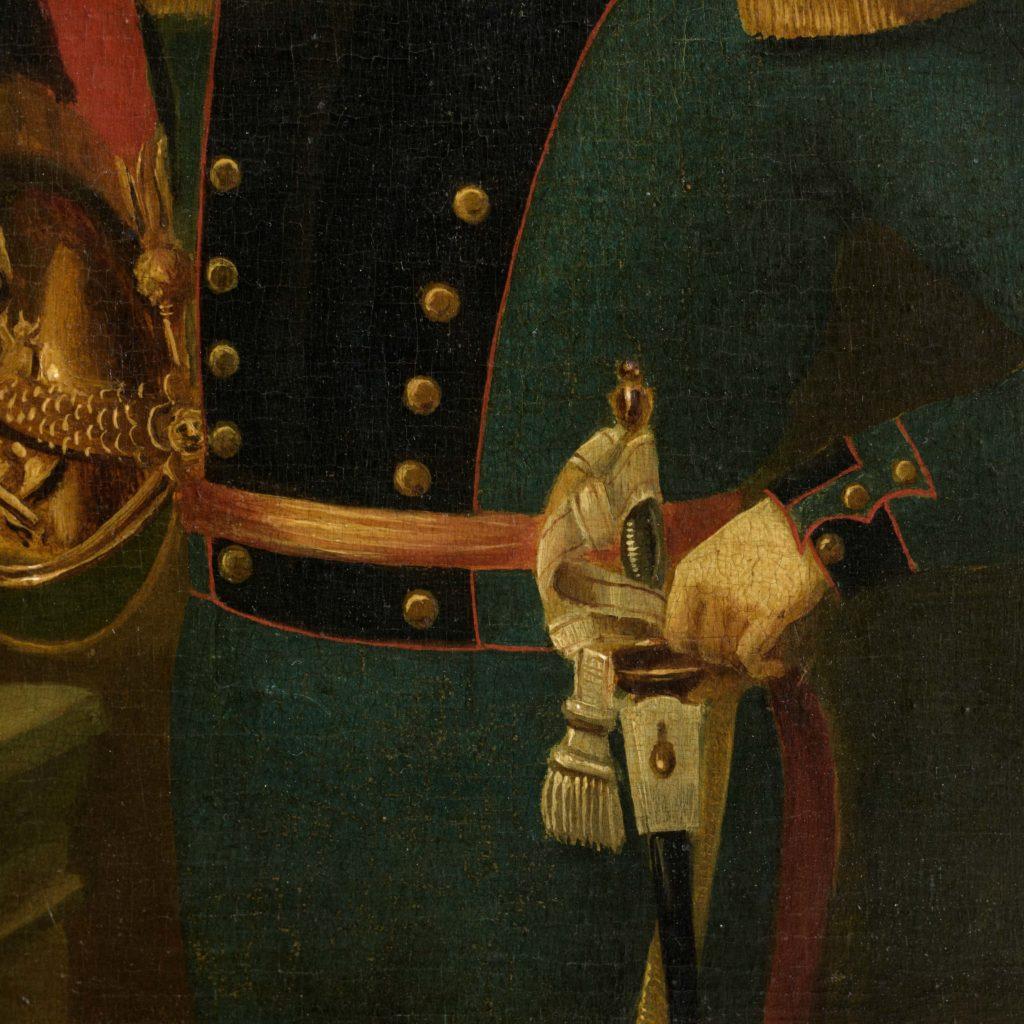 Pair of Belgian portraits,-102126