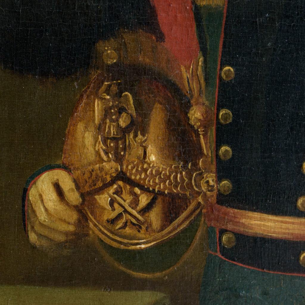 Pair of Belgian portraits,-102120