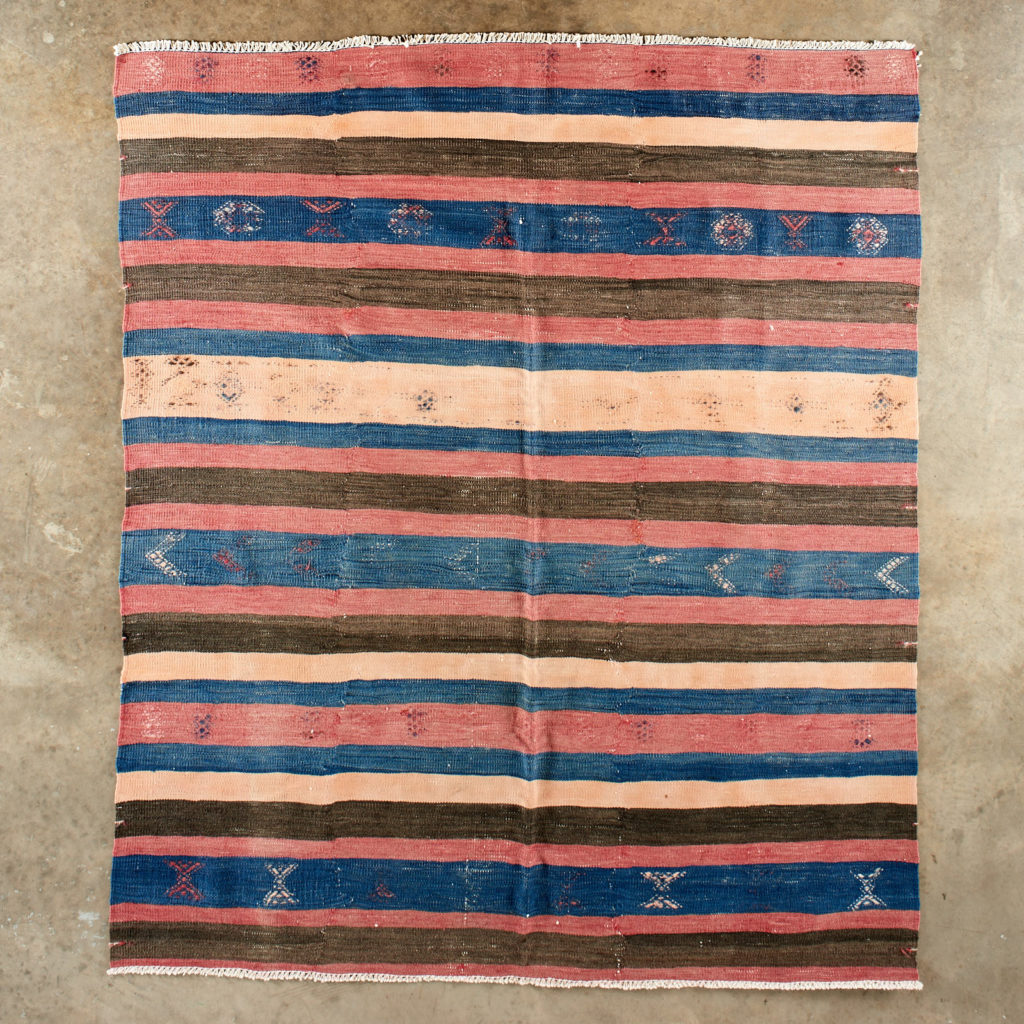 Vegetable dyed kilim rug, -103261