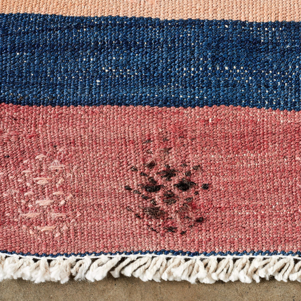 Vegetable dyed kilim rug, -103256
