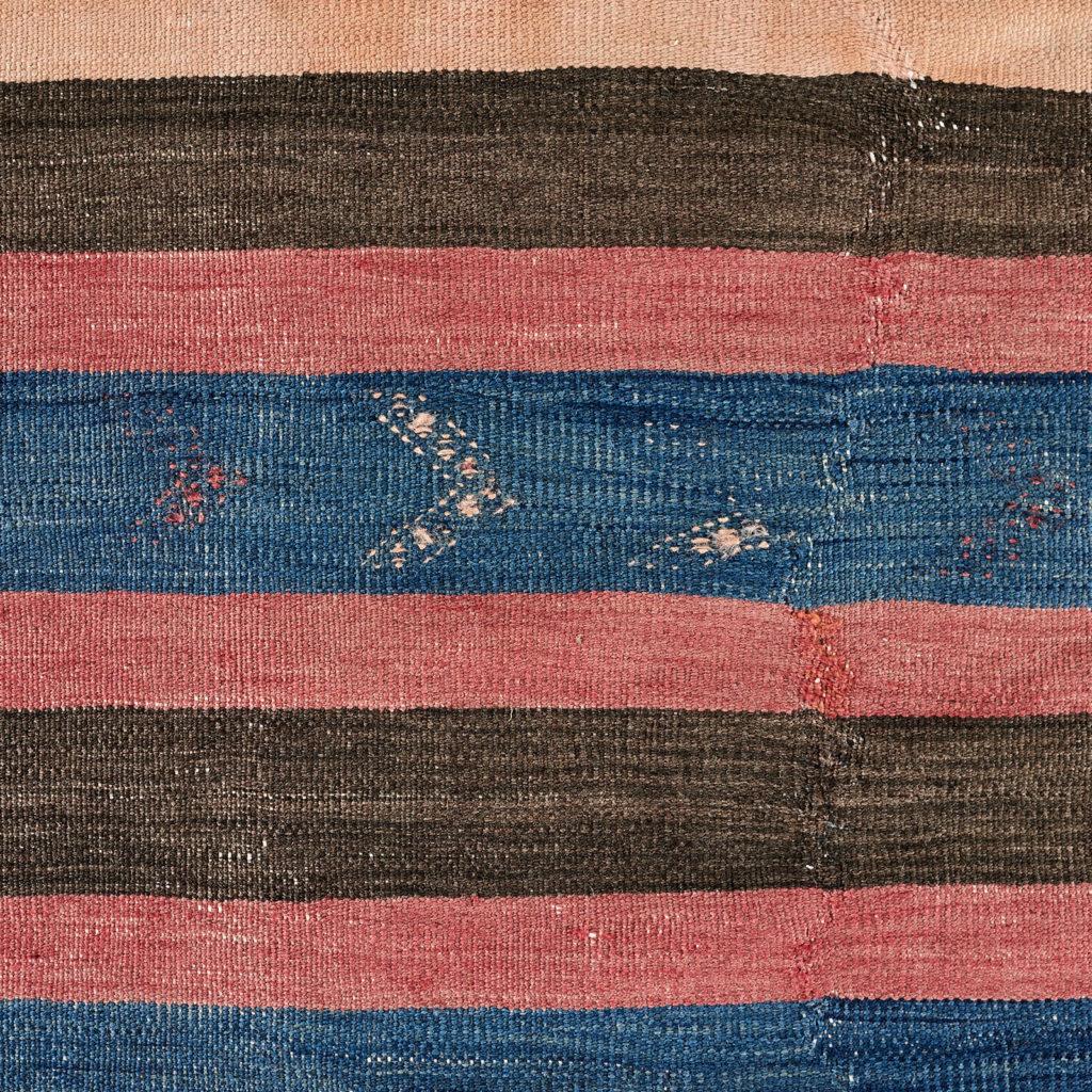 Vegetable dyed kilim rug, -103250