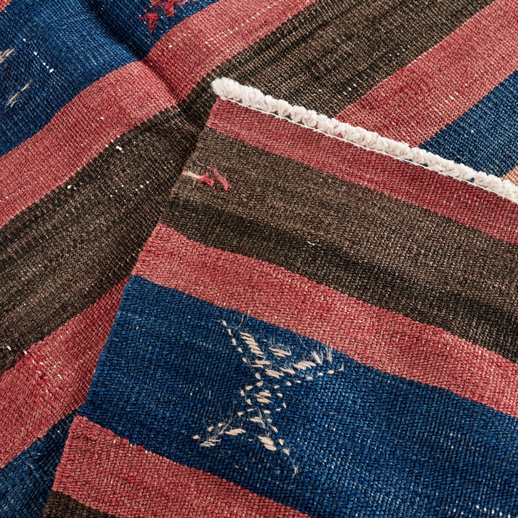 Vegetable dyed kilim rug, -103262