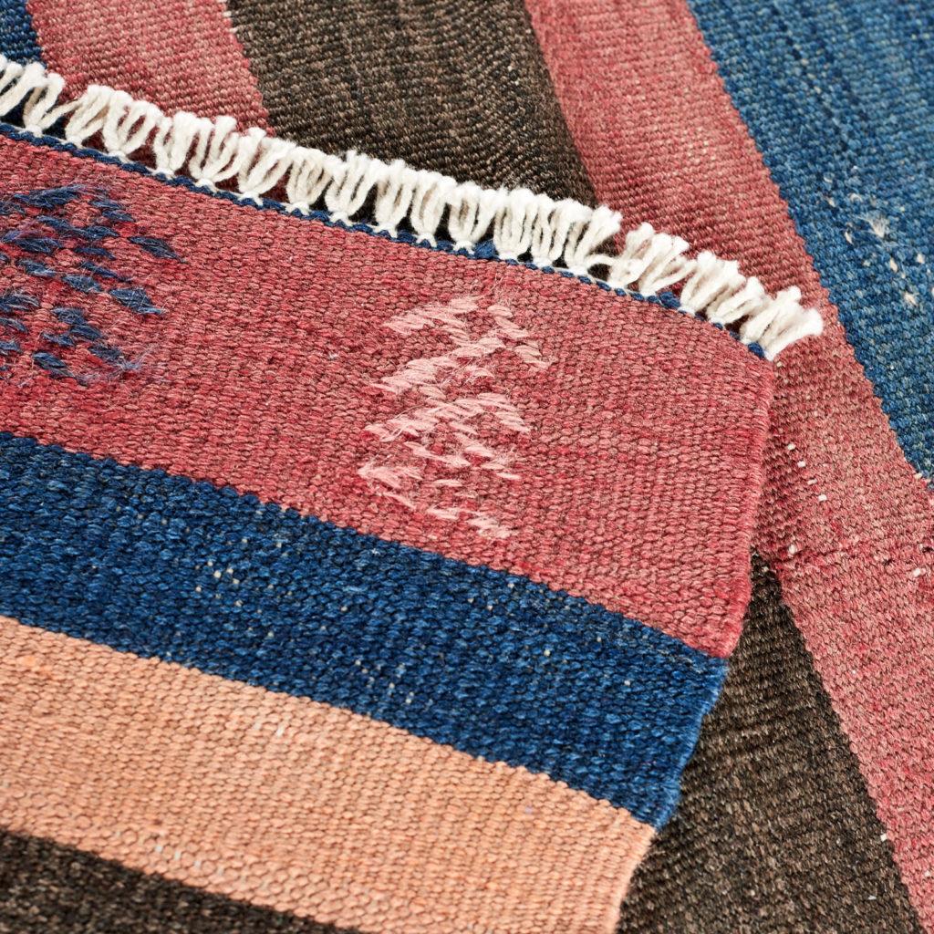 Vegetable dyed kilim rug, -103253