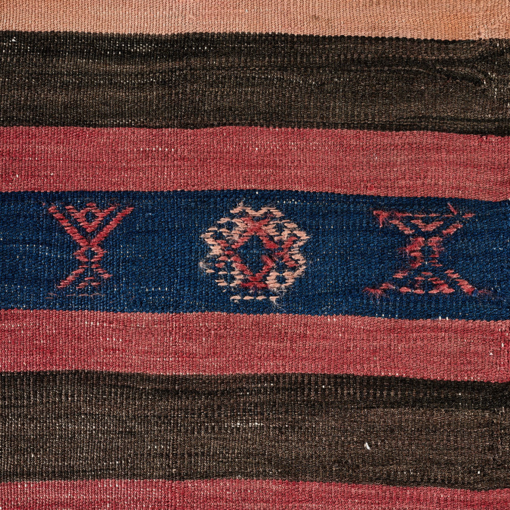 Vegetable dyed kilim rug, -103260