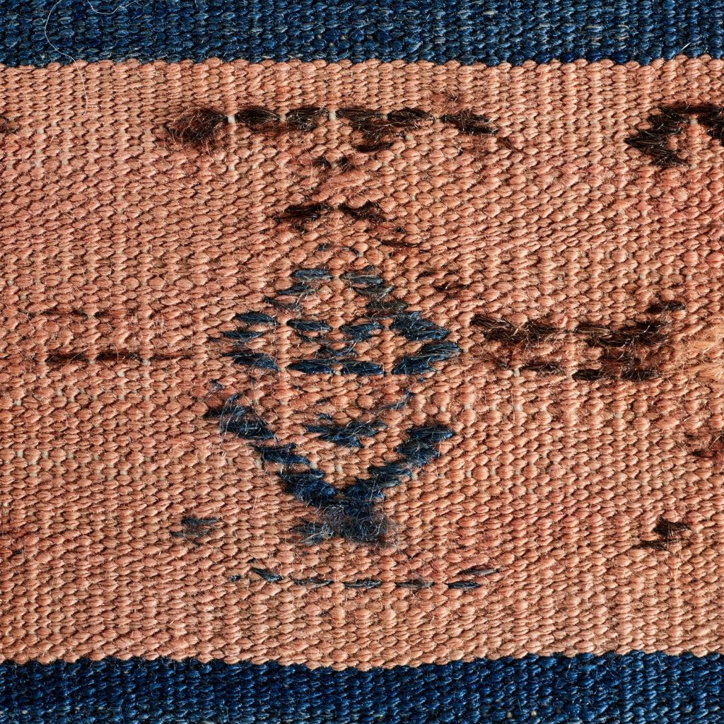 Vegetable dyed kilim rug, -103258
