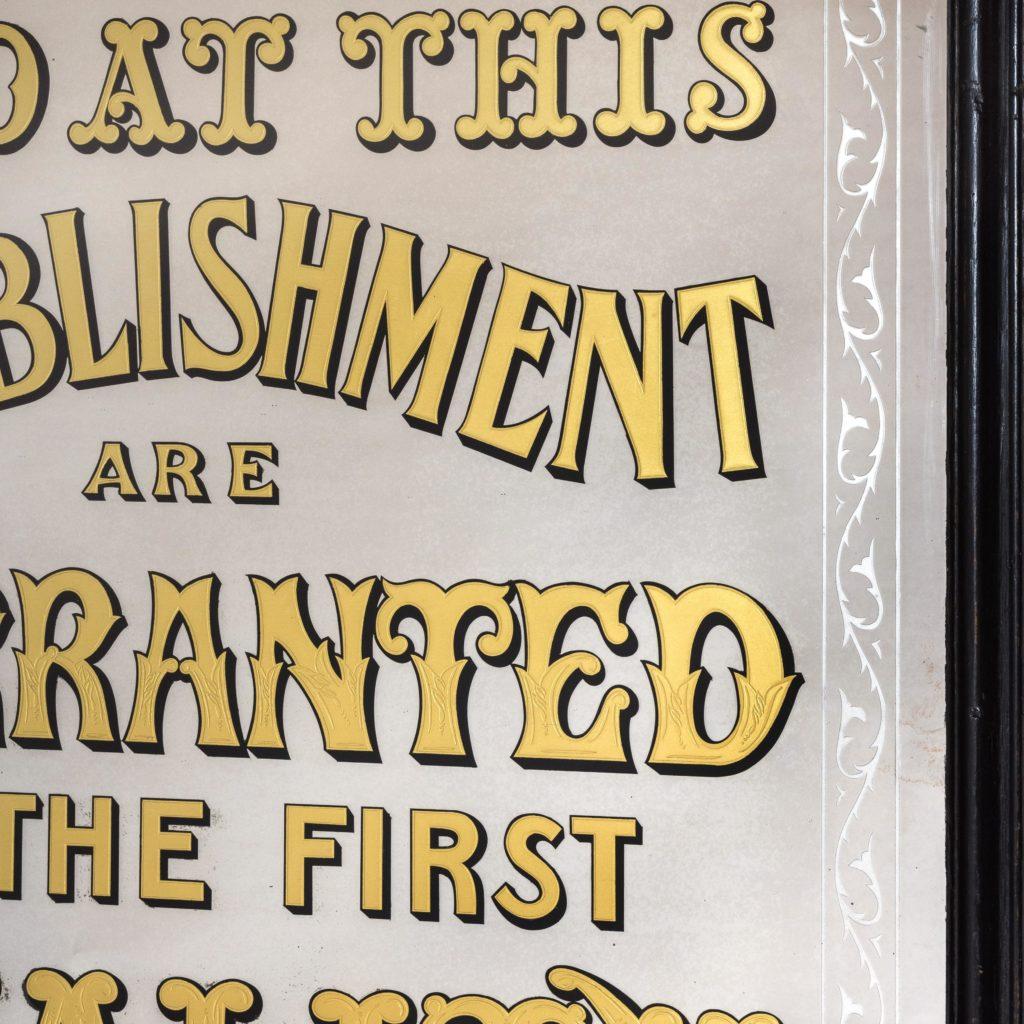 Late nineteenth century style shop mirror,-103794