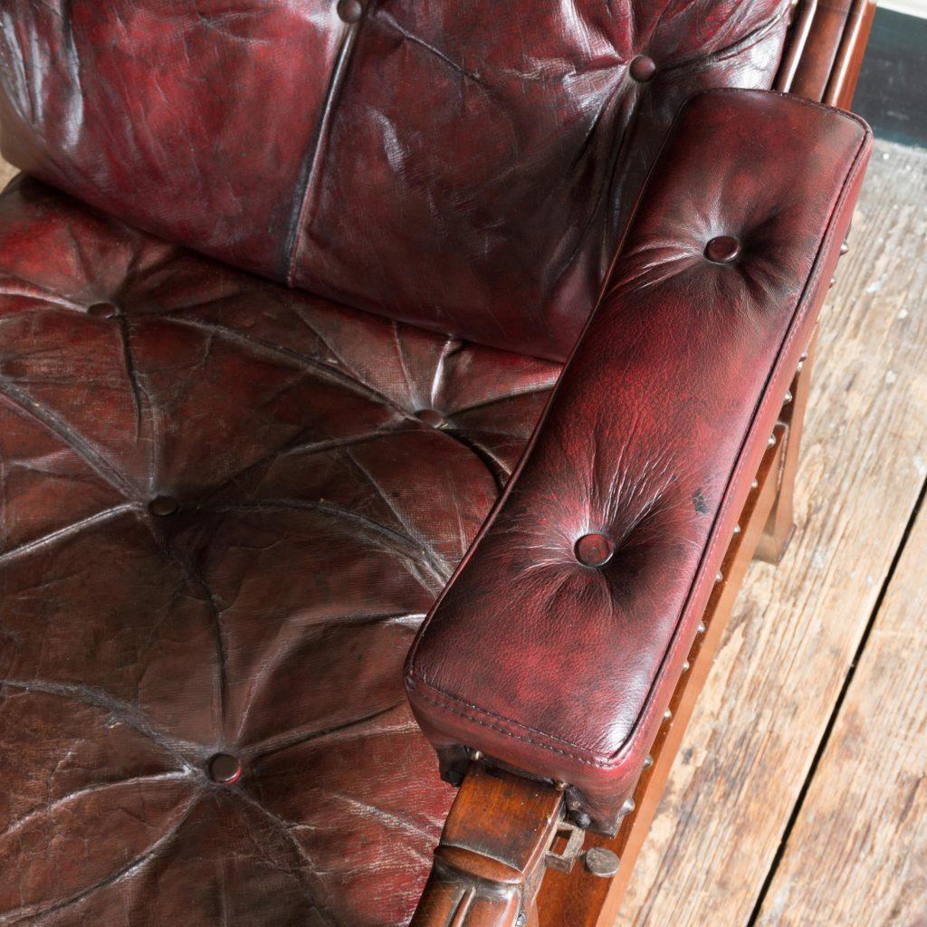 William IV mahogany reclining reading chair,-103533