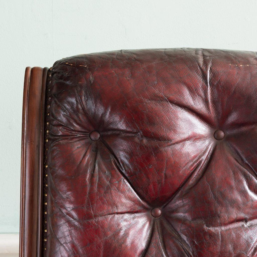 William IV mahogany reclining reading chair,-103538