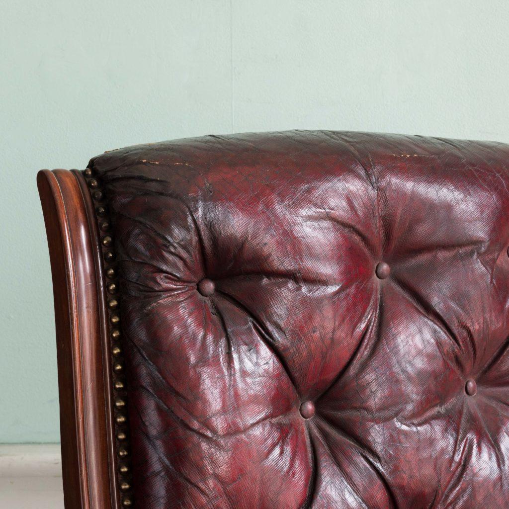 William IV mahogany reclining reading chair,-103535