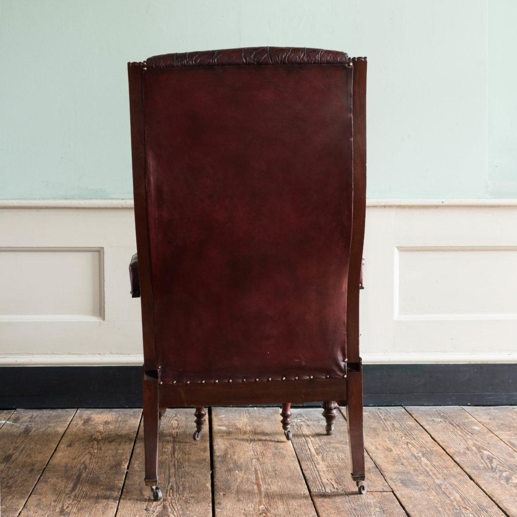 William IV mahogany reclining reading chair,-103539
