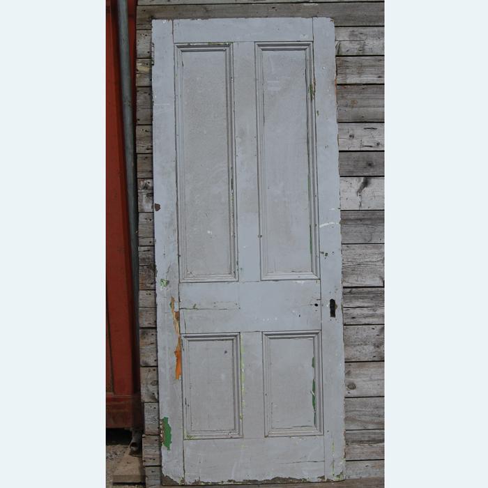 salvaged door