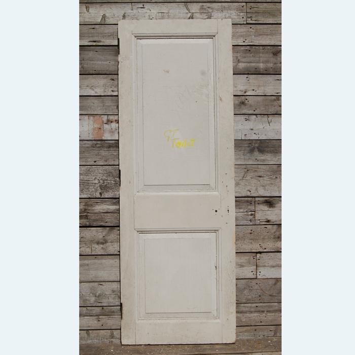 two panelled door
