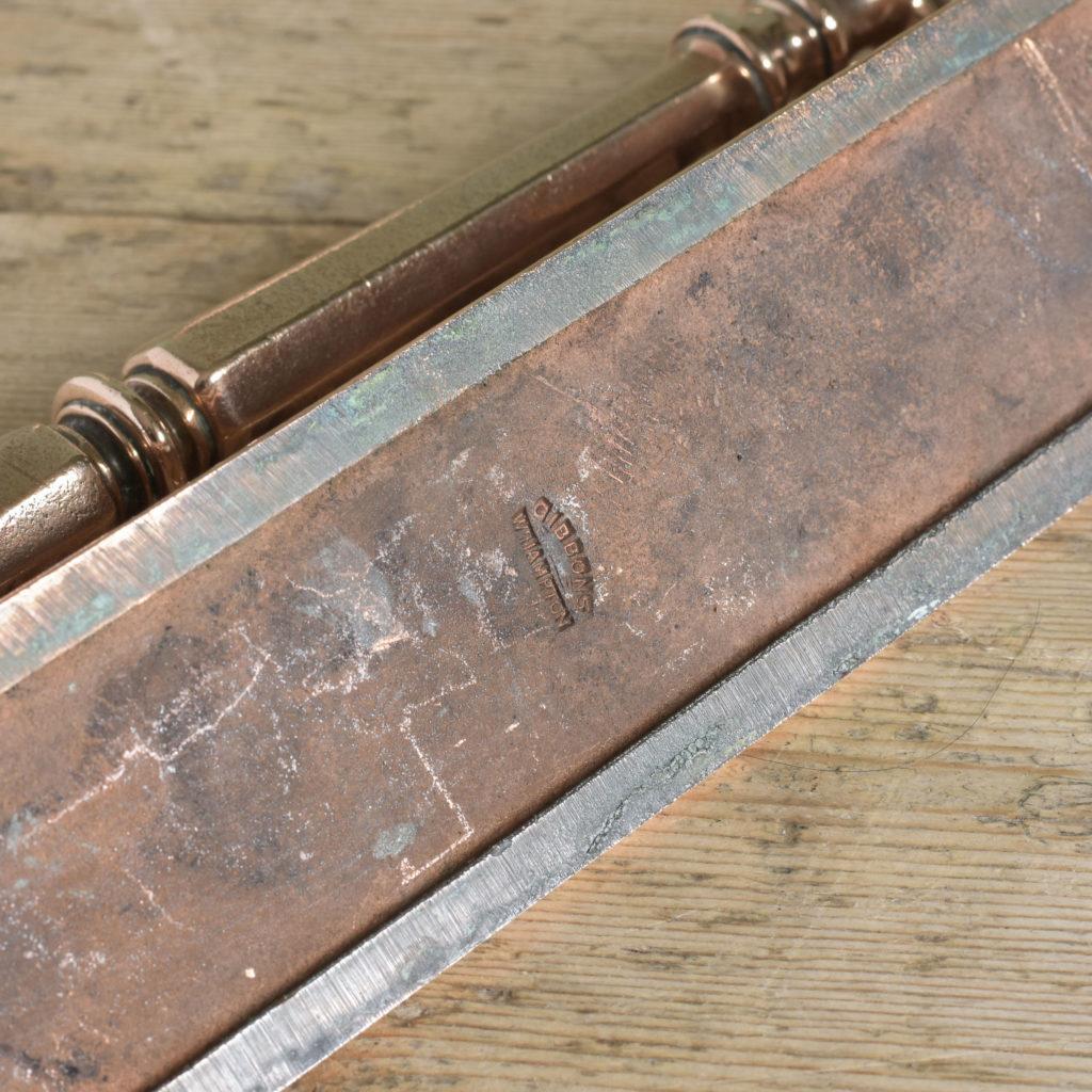 Pair of Edwardian bronze door pulls,-104920
