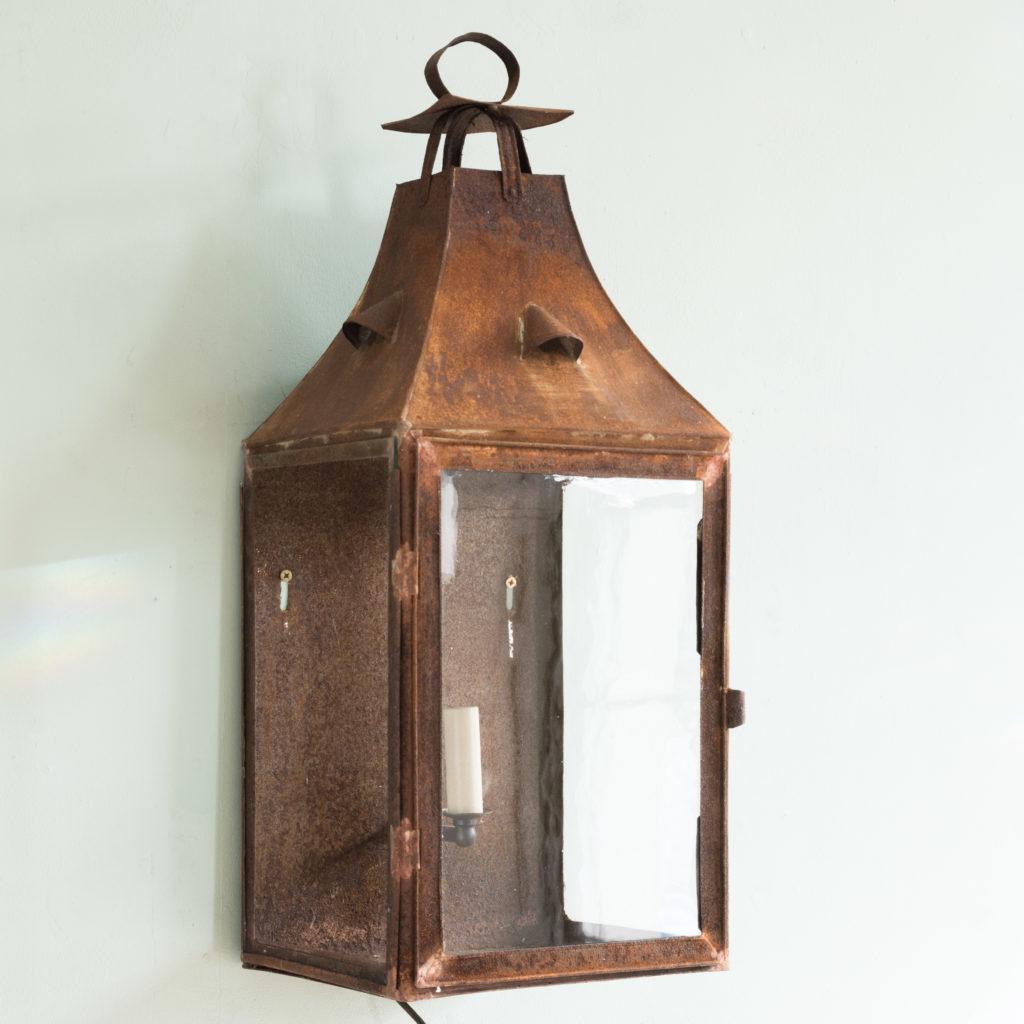 French nineteenth century wall lantern,-0