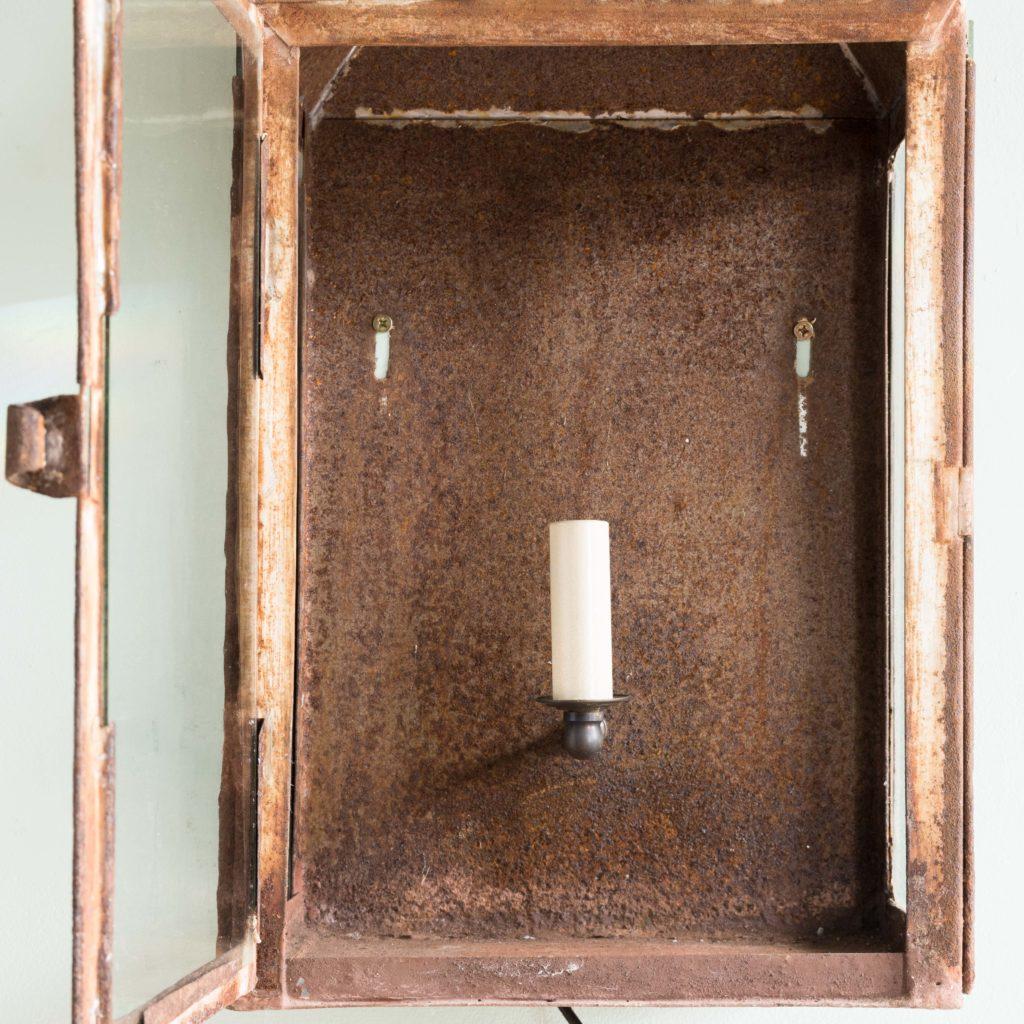 French nineteenth century wall lantern,-104639