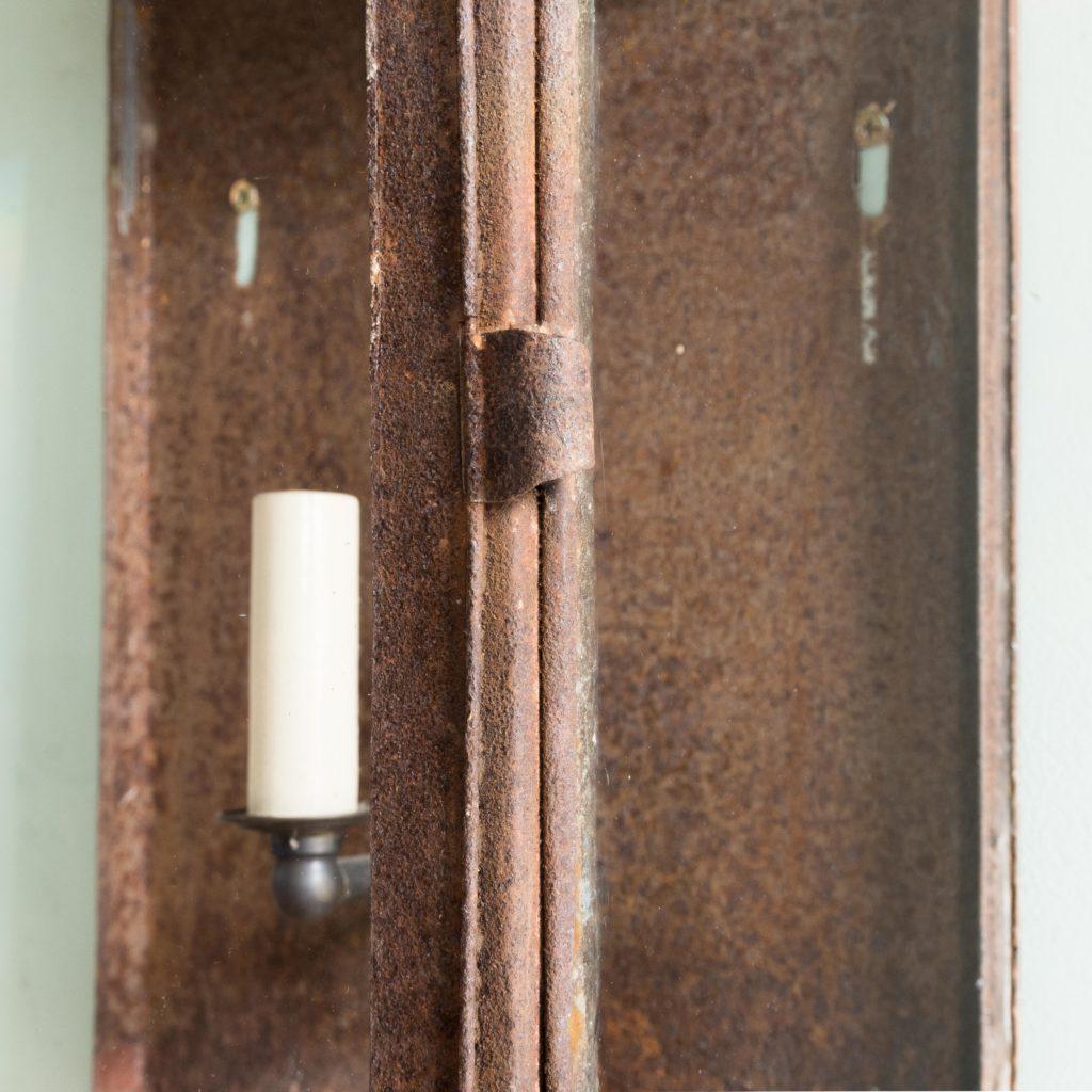 French nineteenth century wall lantern,-104644