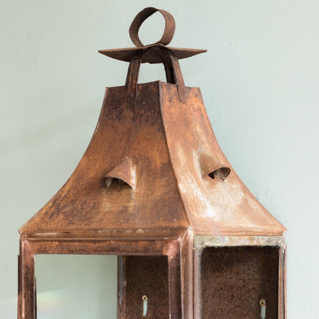 French nineteenth century wall lantern,-104638