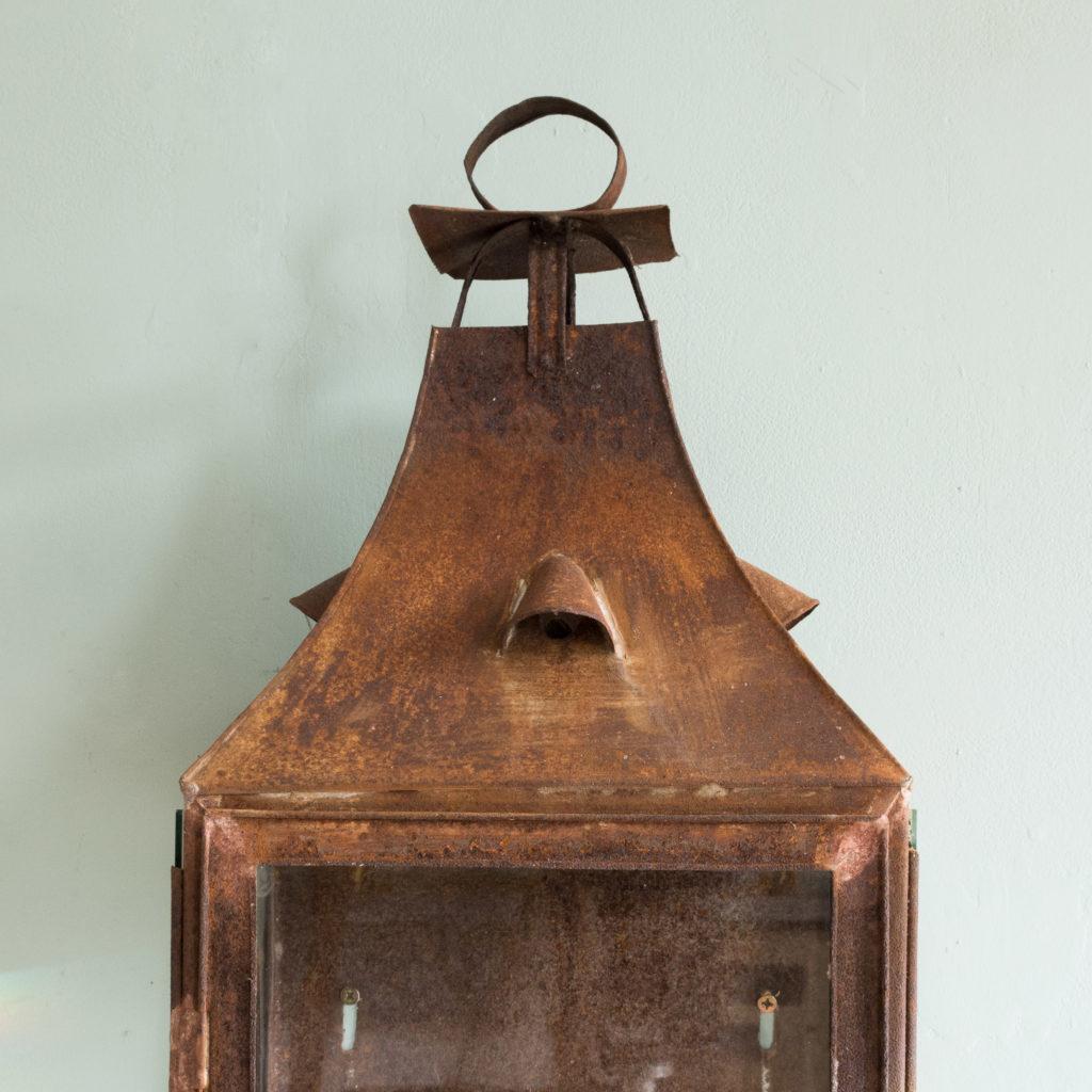 French nineteenth century wall lantern,-104643