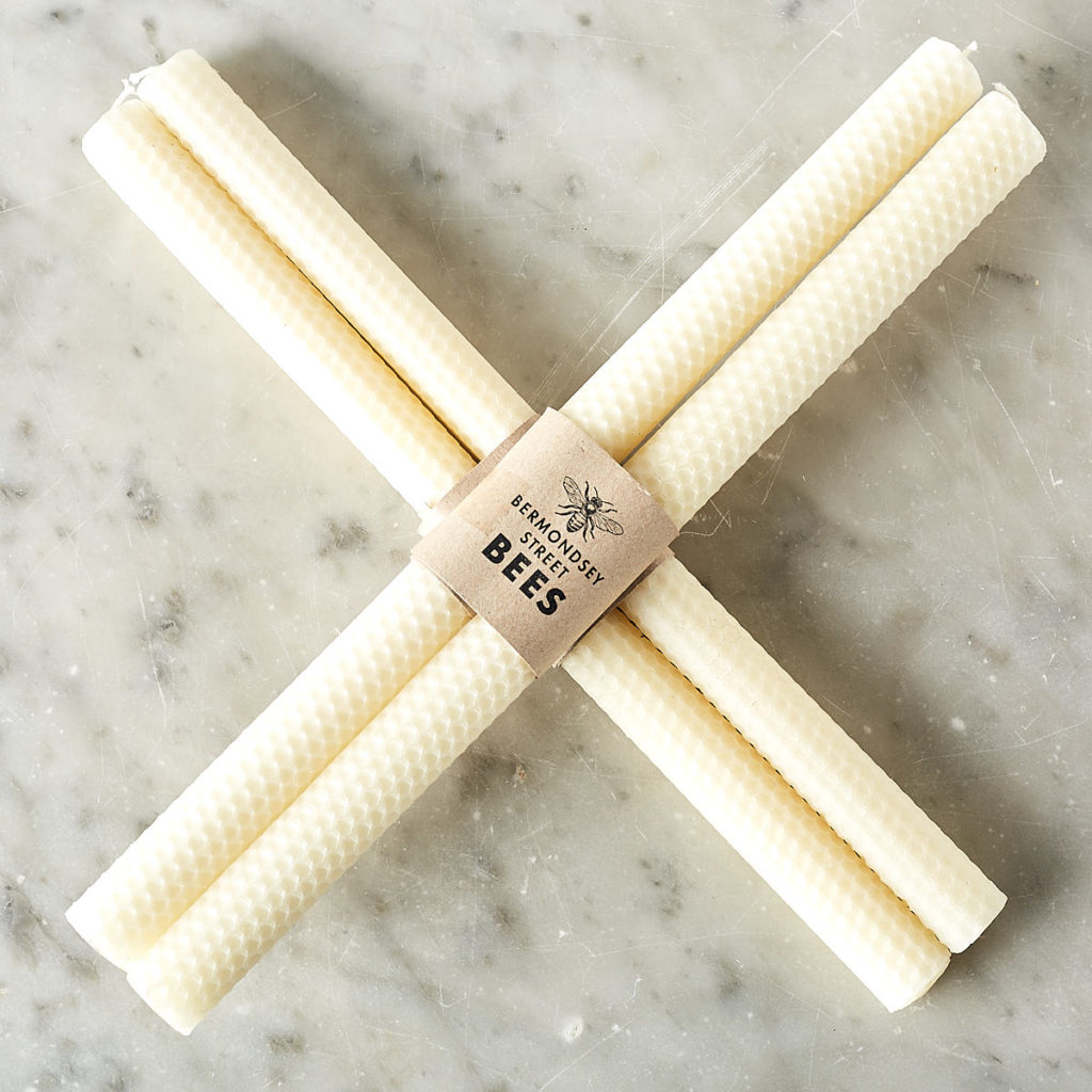 Beeswax rolled candle sticks,-0