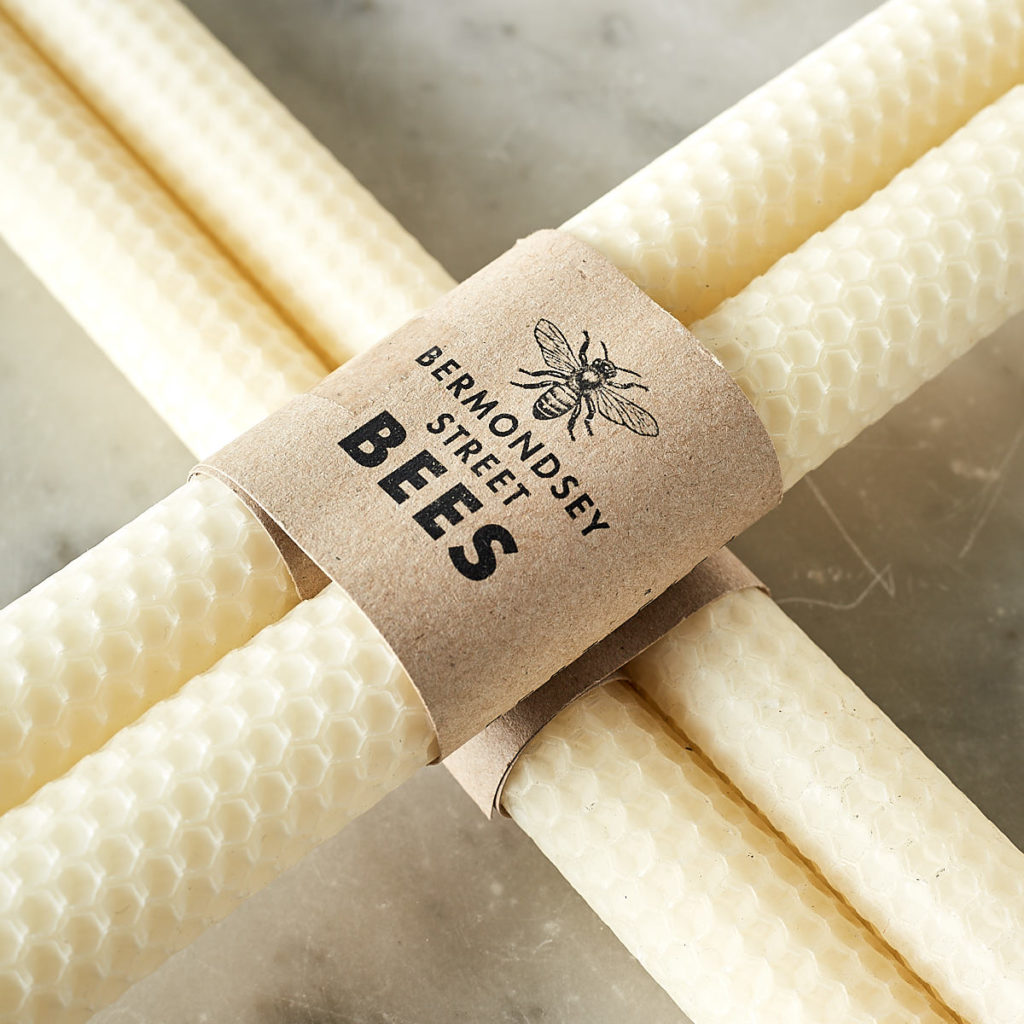 Beeswax rolled candle sticks,-108800