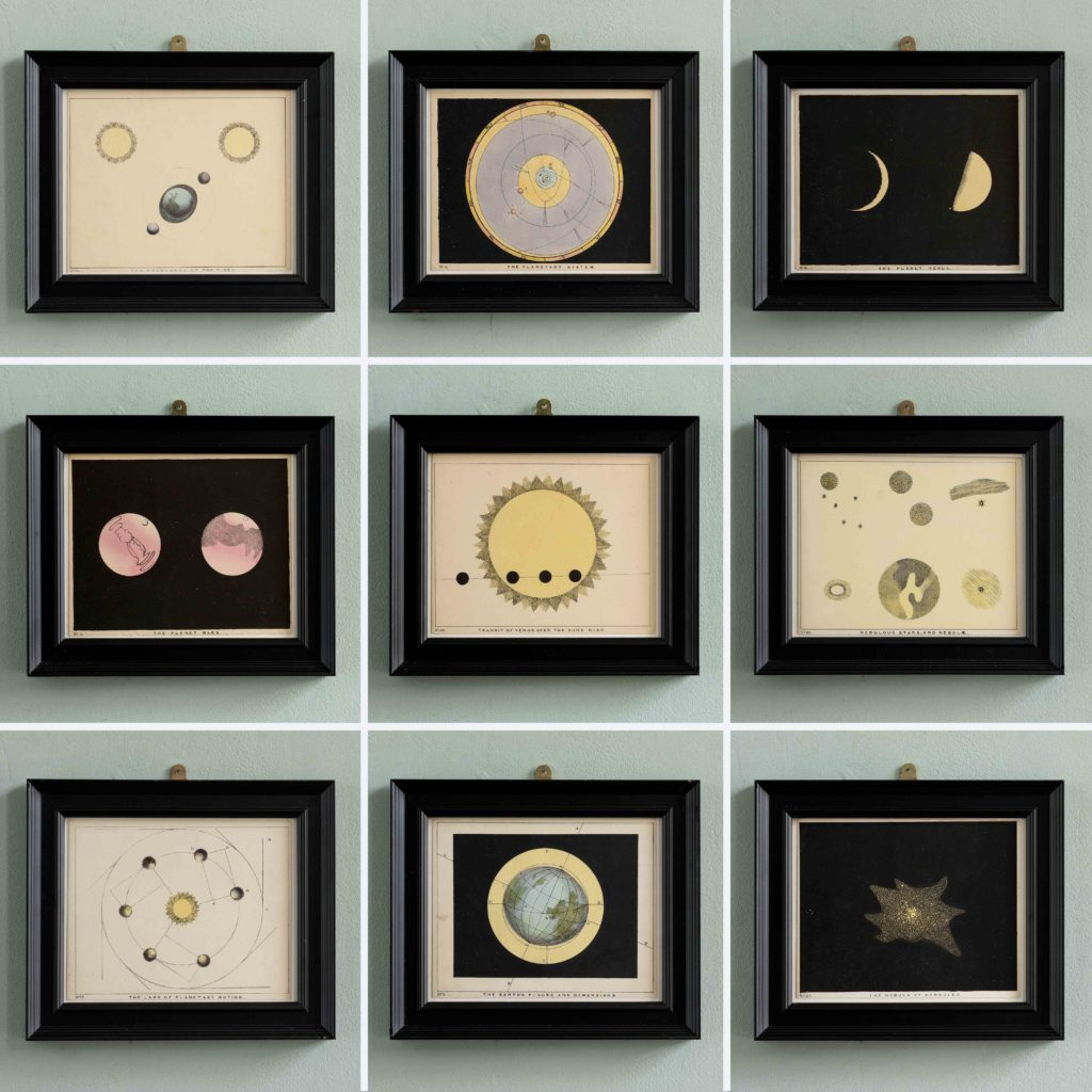 Original astronomy prints published 1843-104698