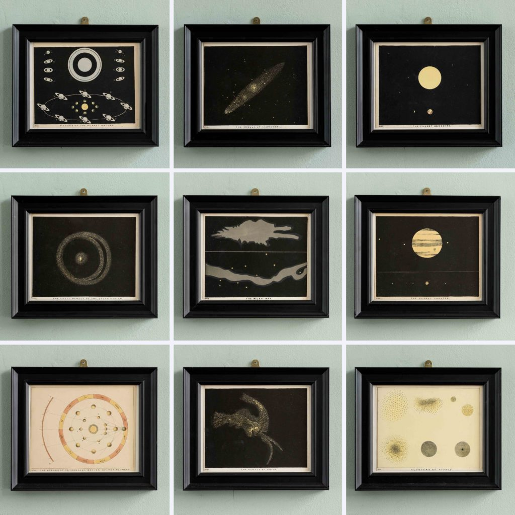 Original astronomy prints published 1843-104695