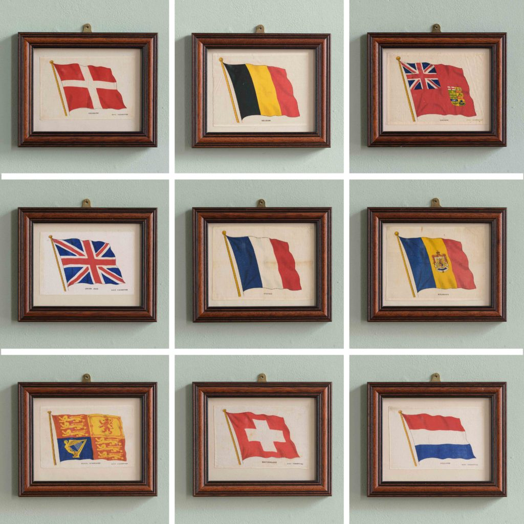 Silk Flags published circa 1918,-105227