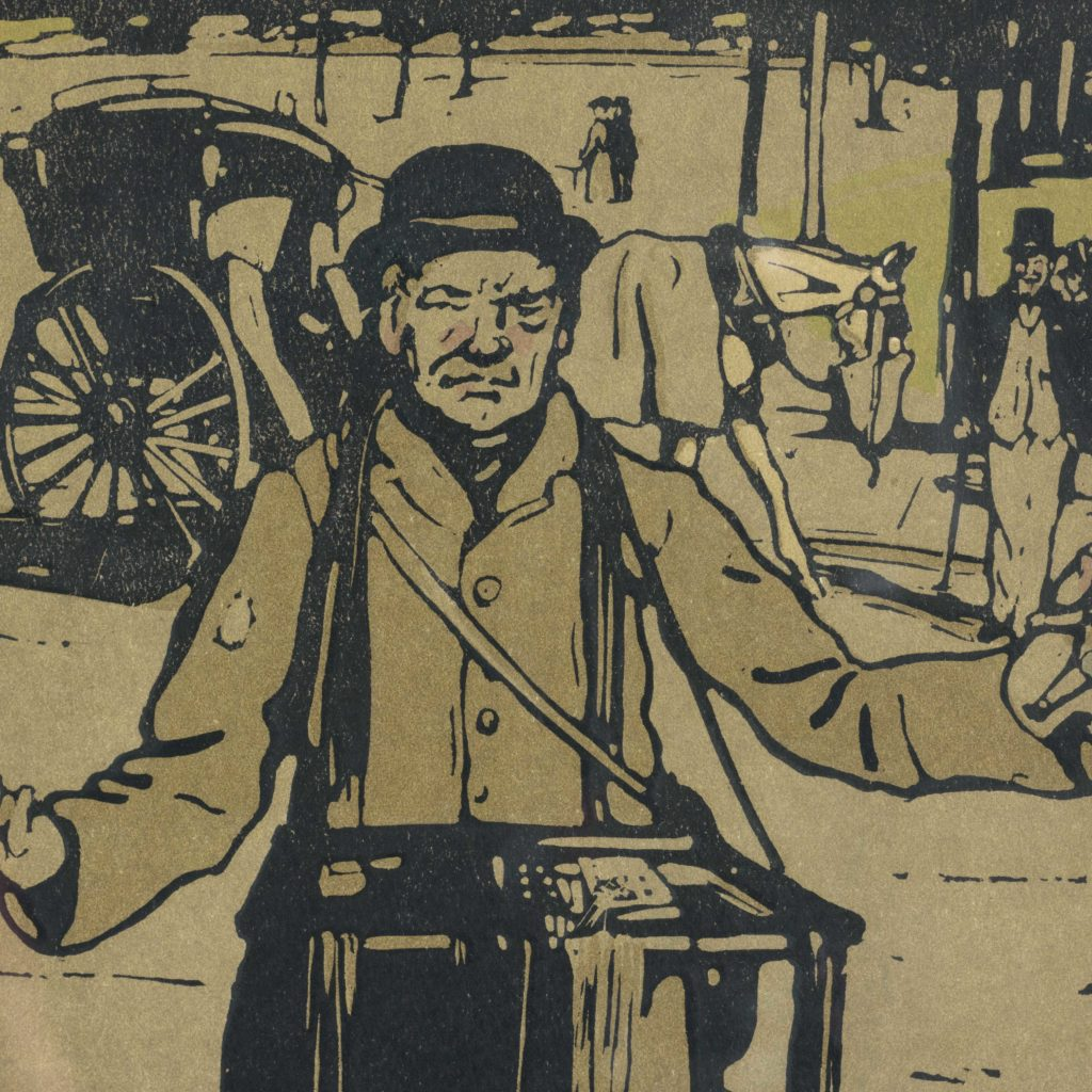London Types, by William Nicholson 1897-105173