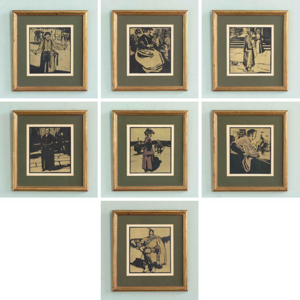 London Types, by William Nicholson 1897-105152