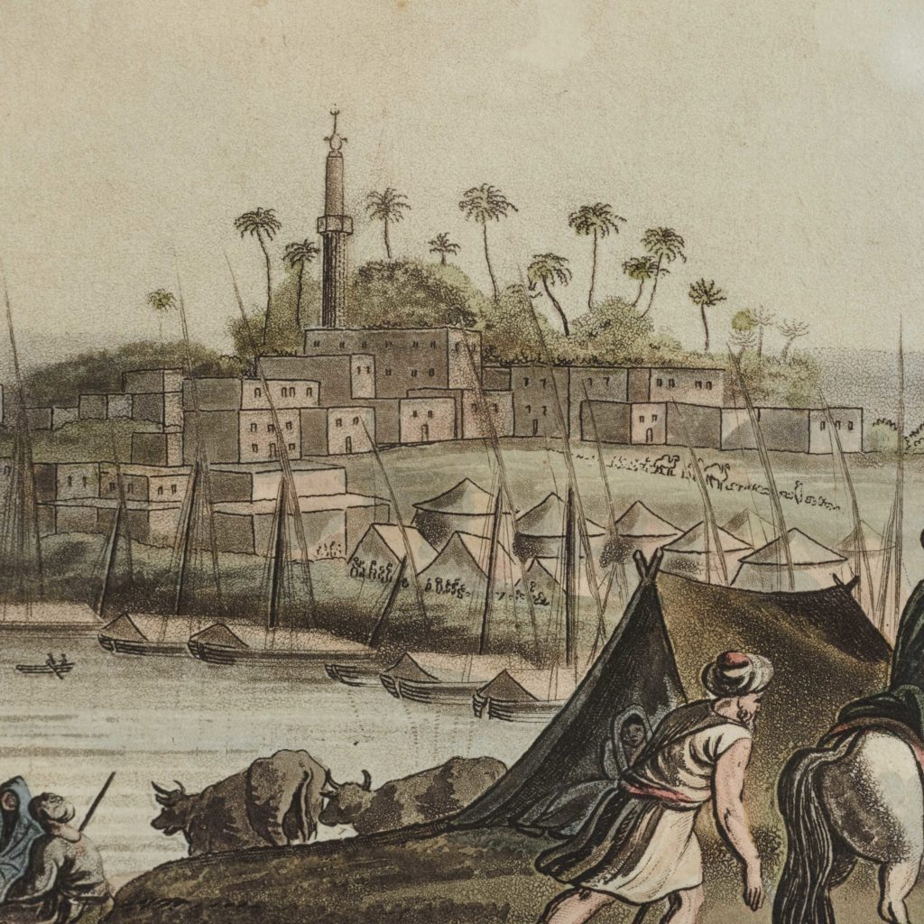 Views in Egypt; original aquatints published 1804-104790