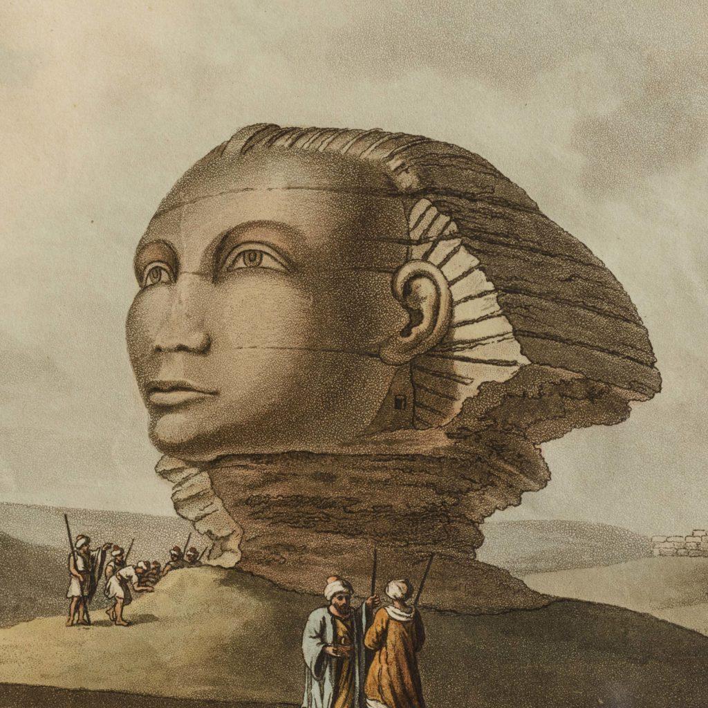 Views in Egypt; original aquatints published 1804-104773
