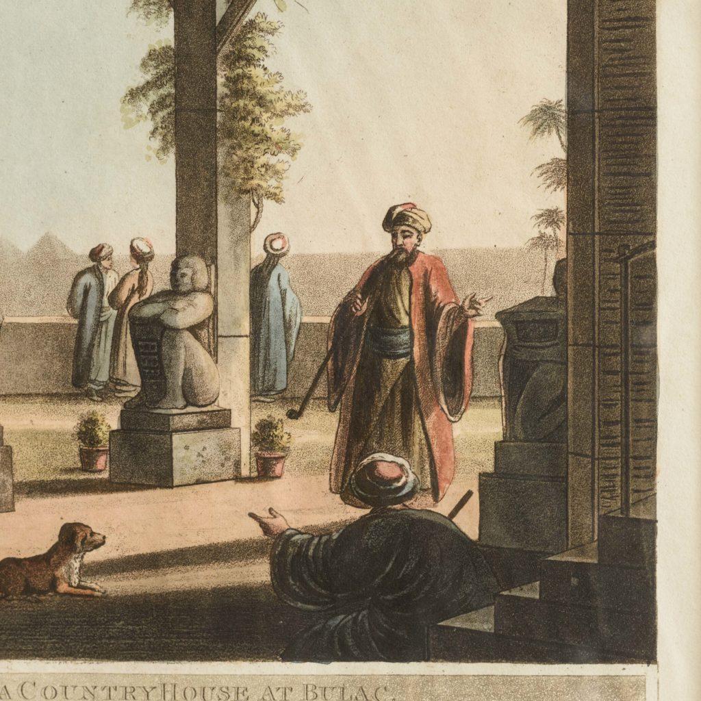 Views in Egypt; original aquatints published 1804-104762