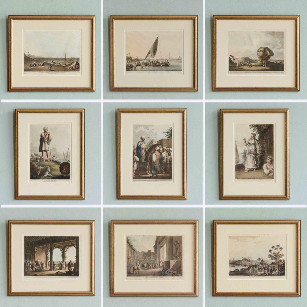 Views in Egypt; original aquatints published 1804-104745