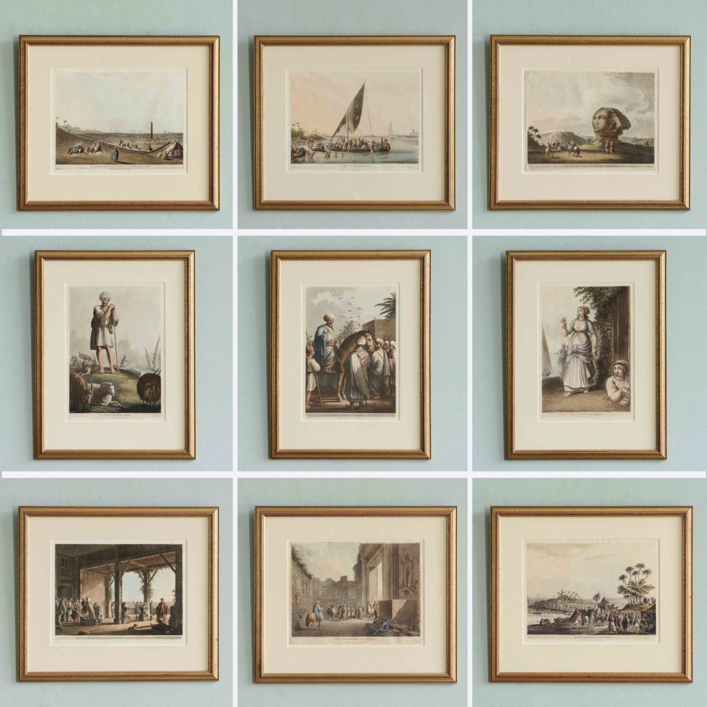 Views in Egypt; original aquatints published 1804-104753