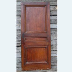 mahogany door