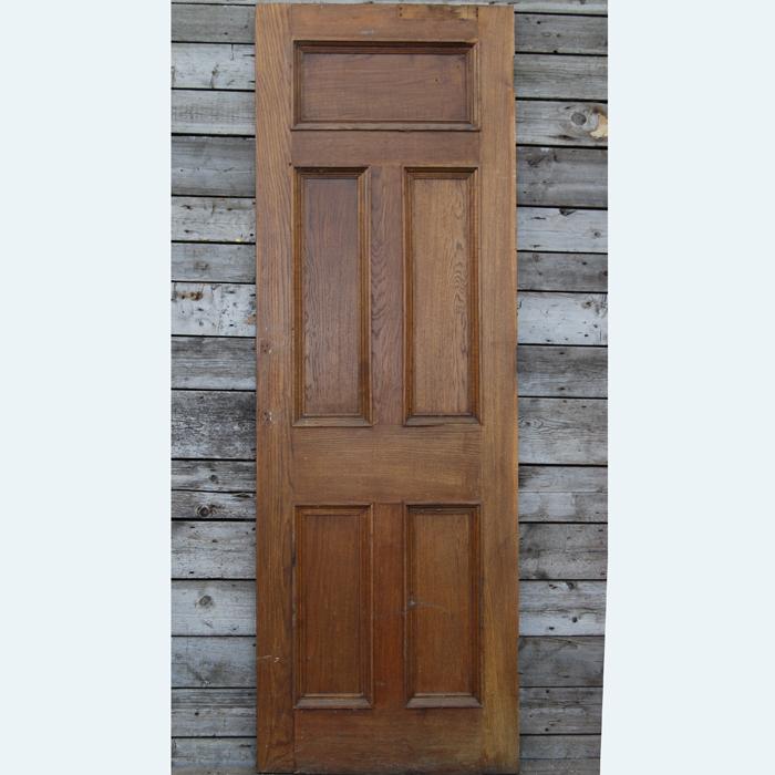 reclaimed oak door