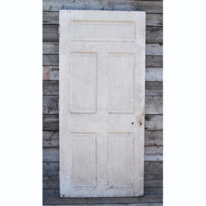 panelled door