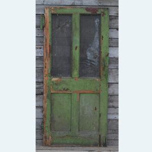 glazed door