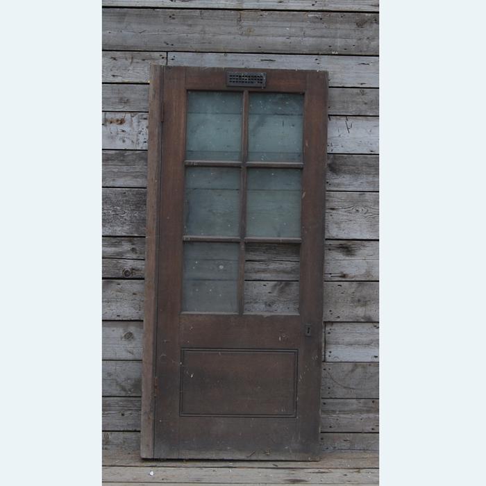 Boiler room door
