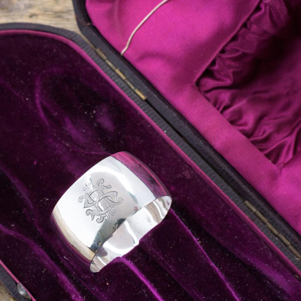 Victorian Silver Christening set in original box, -105738