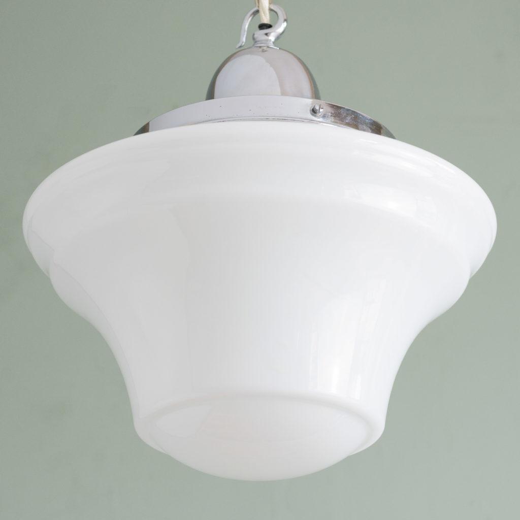 Edwardian opaline pendant lights,-105751