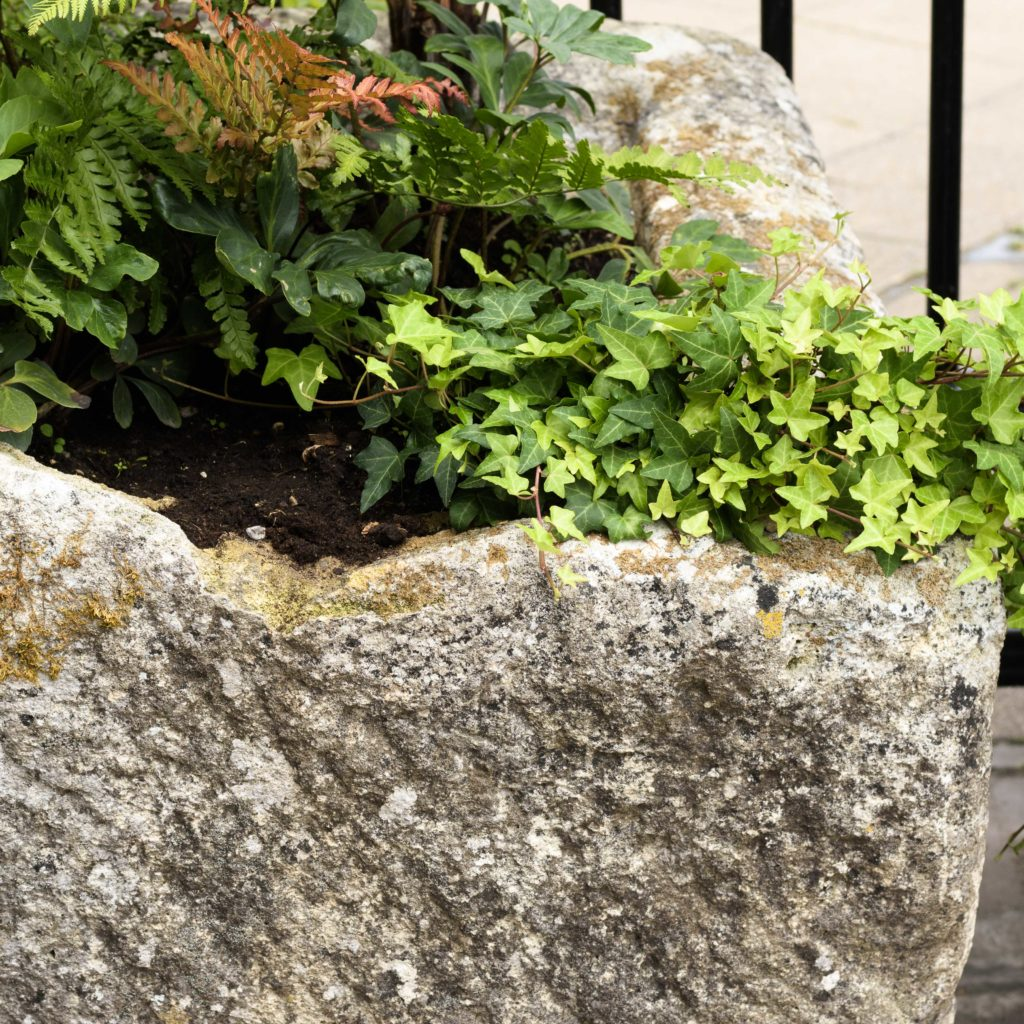 Large French limestone trough,-106781