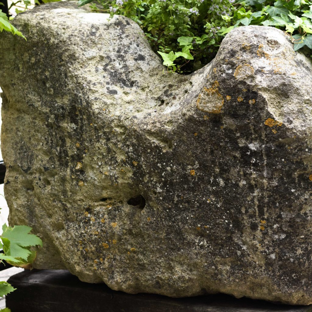 Large French limestone trough,-106782