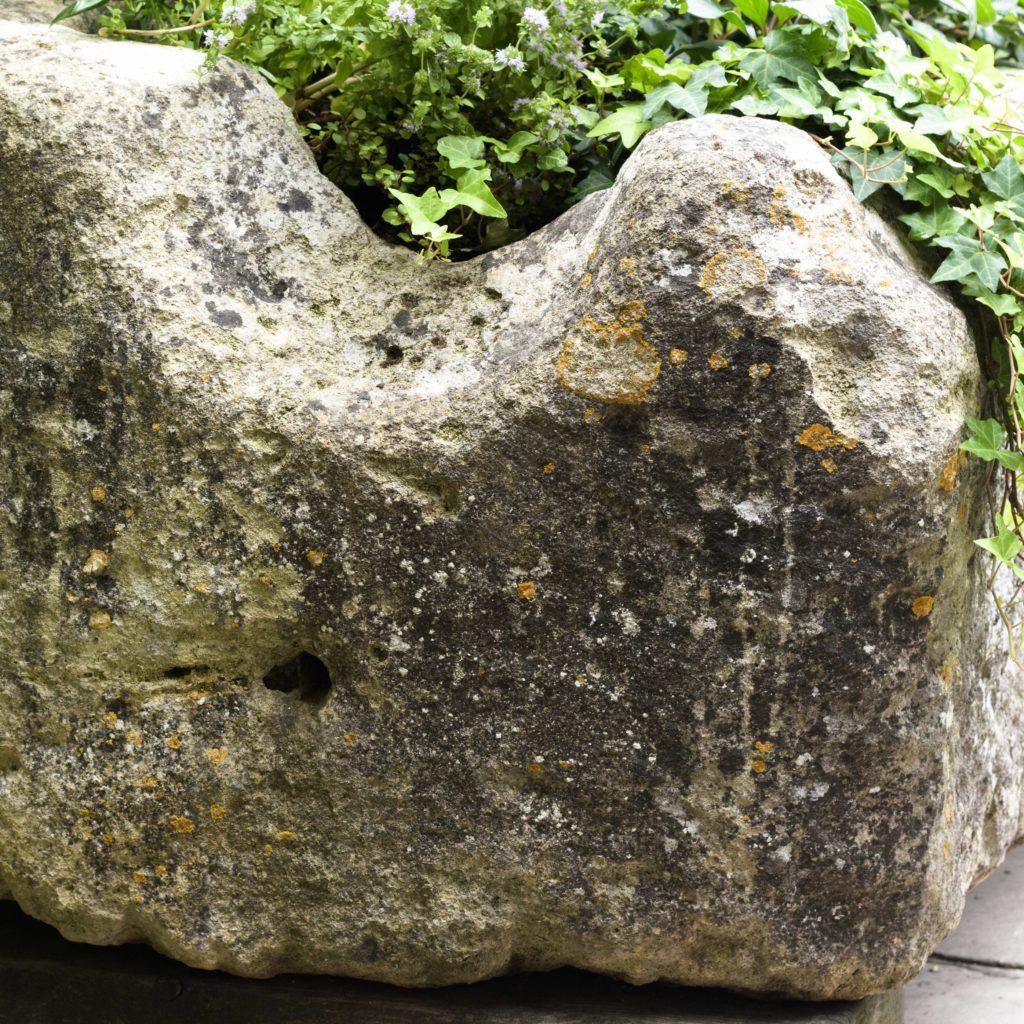 Large French limestone trough,-106783