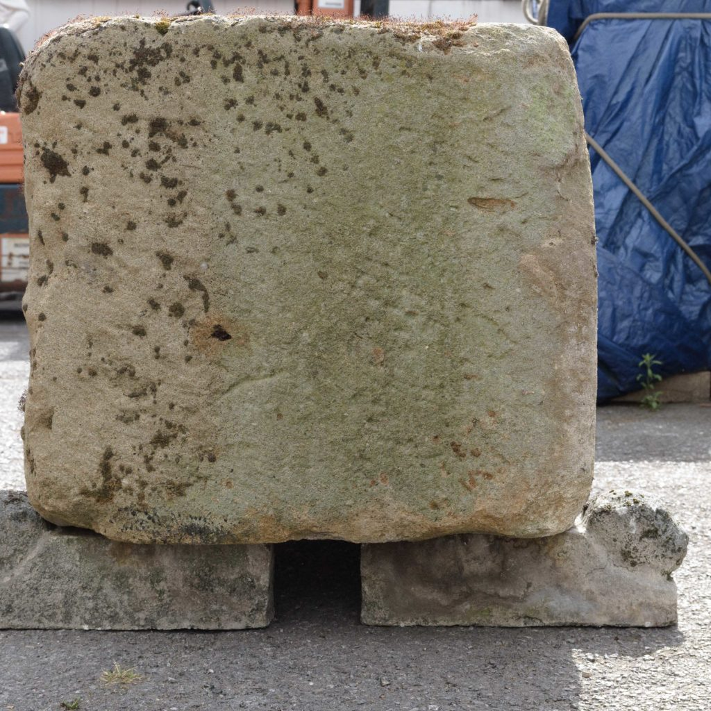 Substantial early nineteenth century stone trough,-107002