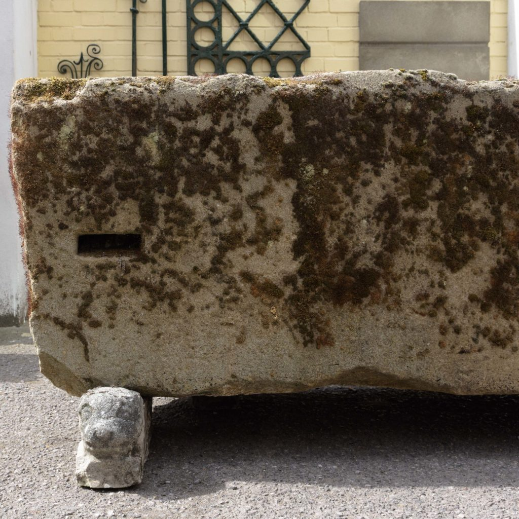 Substantial early nineteenth century stone trough,-107003