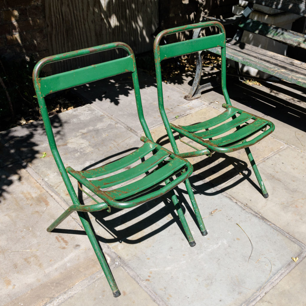 French folding cafe chairs,-106951